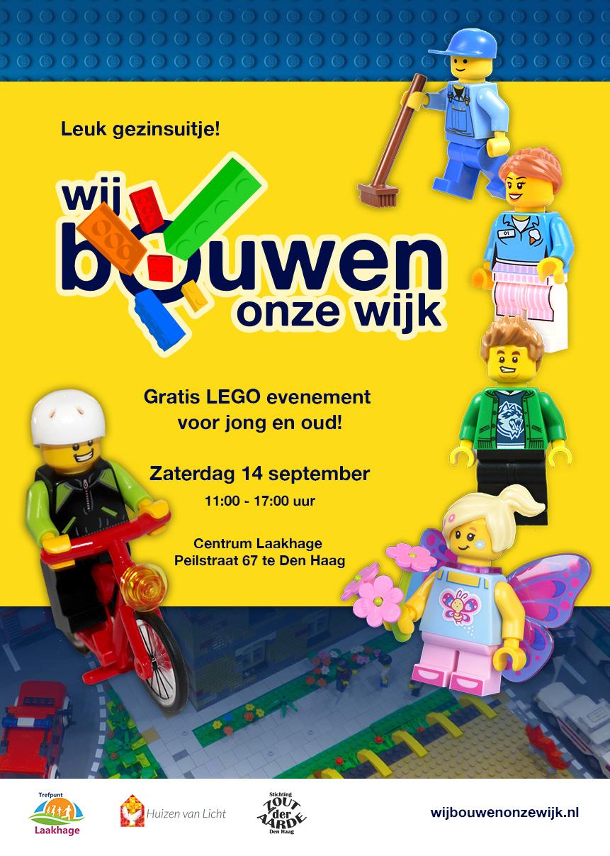 Ontwerp flyers LEGO dagen