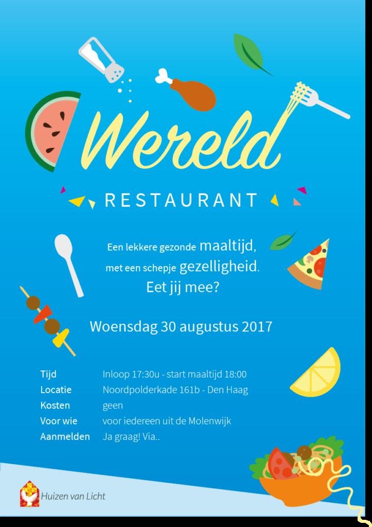 Poster Wereldrestaurant