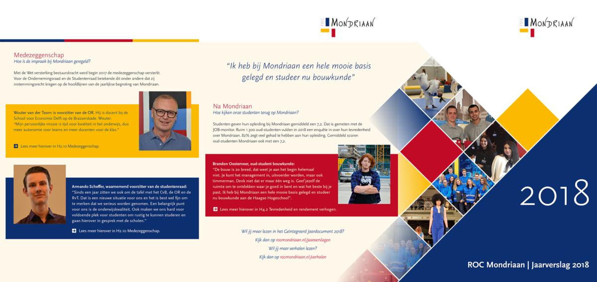 Jaarverslag ROC Mondriaan